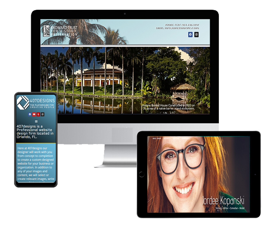 Professional Website Designer Orlando